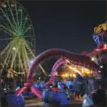 Bloem show - Fun Fair (Theme park)