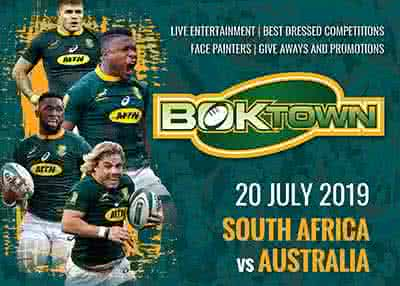 Boktown - Castle Lager Rugby Championship