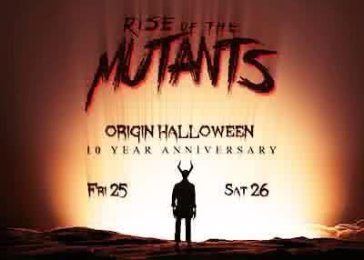 Origin Halloween 2019 Weekend