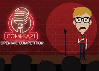 COMI-KAZI Open Mic Competition - Heat #4